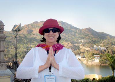 Mount Abu, at the Peace of Mind Retreat, India.