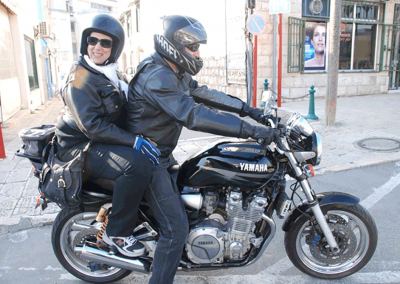 Barry and Janet ride again!