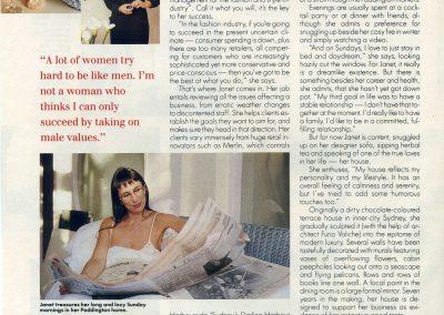 Featured in Cleo Magazine.