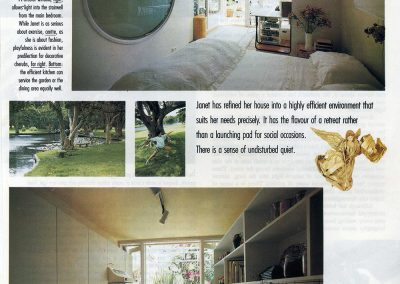 My home in Surry Hills was featured in Australian Vogue in 1988.