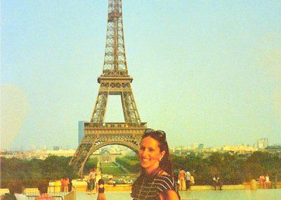 Qantas slip time in Paris.